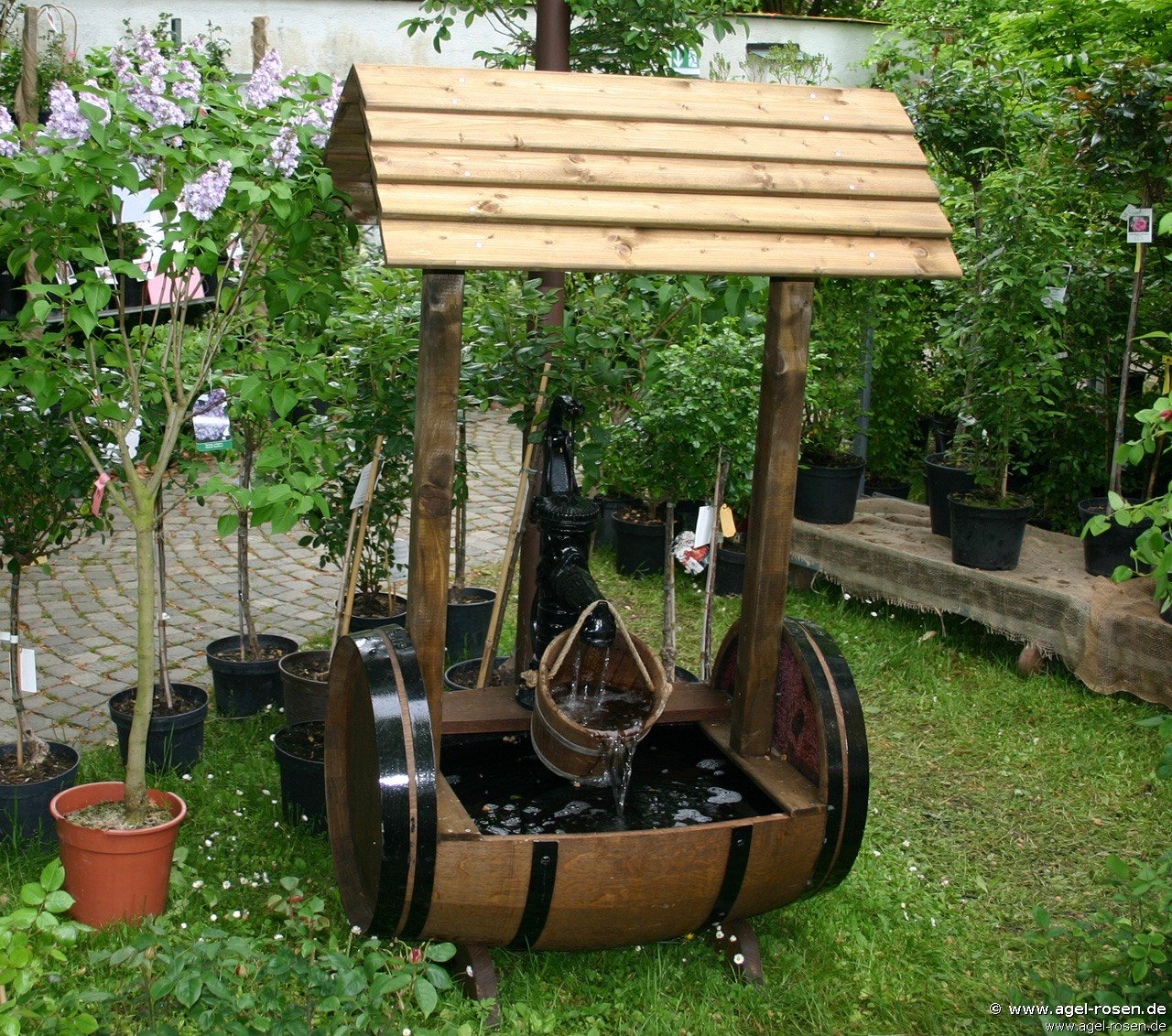 Brunnen Put2 bei AGEL ROSEN online kaufen Gartenaccessoires