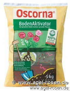 oscorna bodenaktivator 5kg bei agel rosen online kaufen. Black Bedroom Furniture Sets. Home Design Ideas